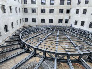 Filet de sécurité sur structure neuve